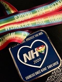 NHS virtual medal